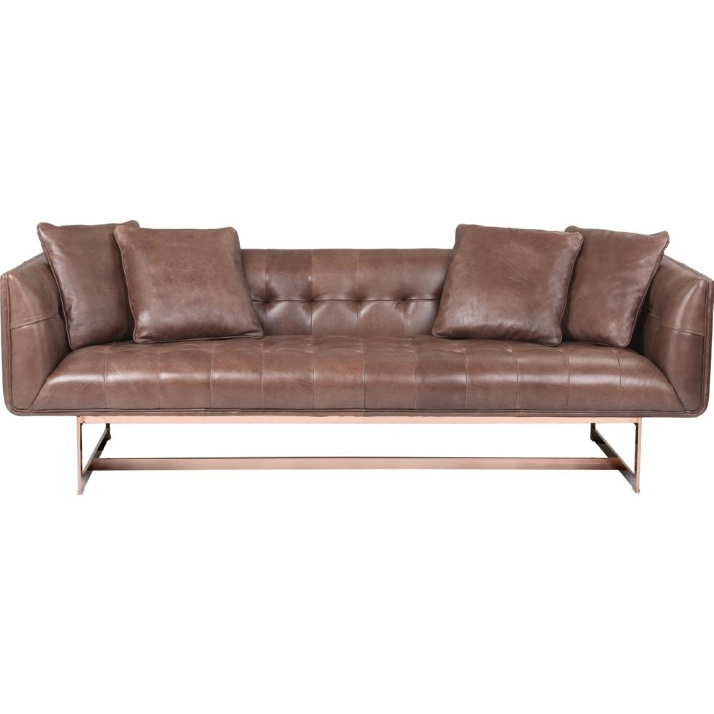 Wunderbar Sofa Rose Referenz Von Sunpan Matisse In Tufted Saddle Leather On