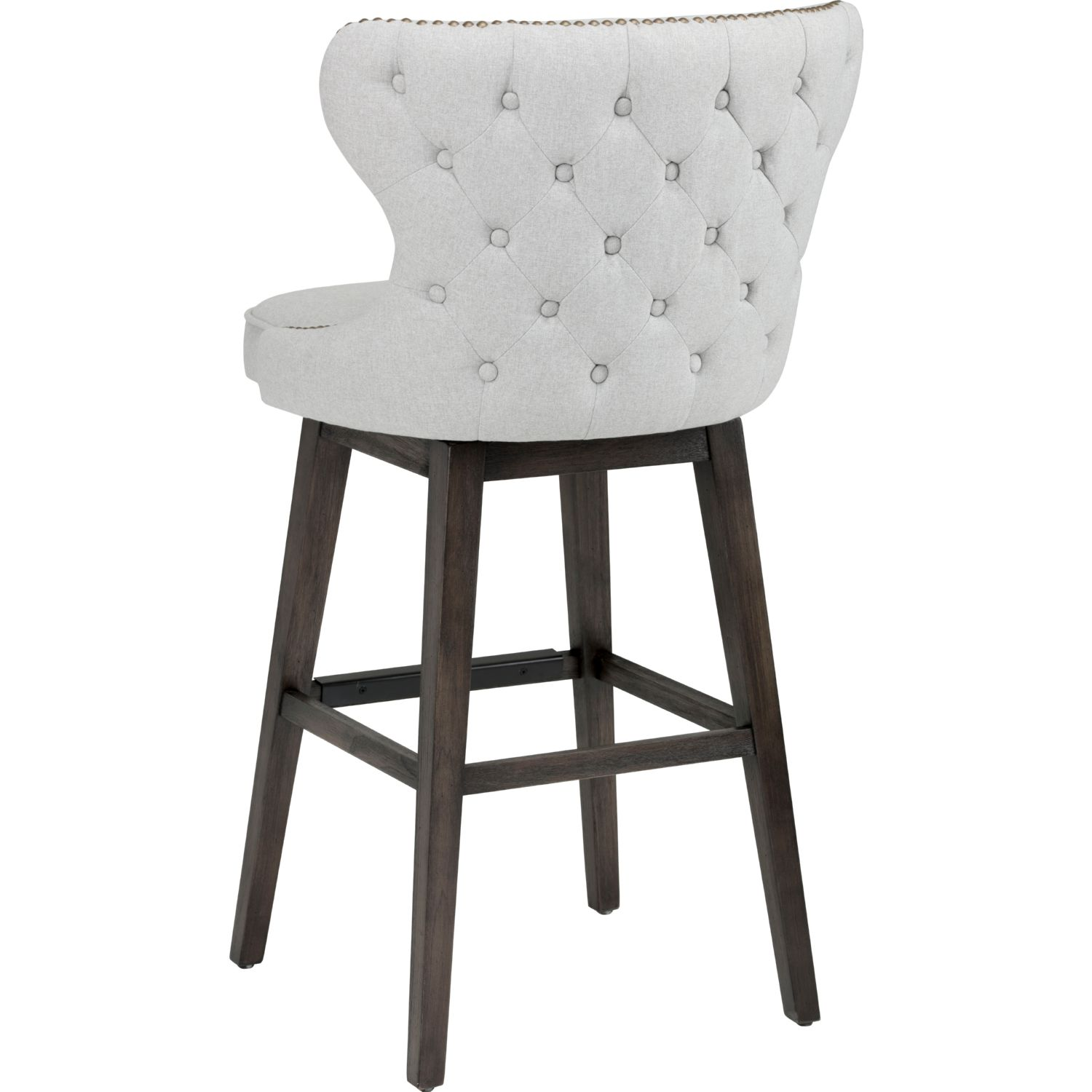 Grey Tufted Bar Stools Home Ideas