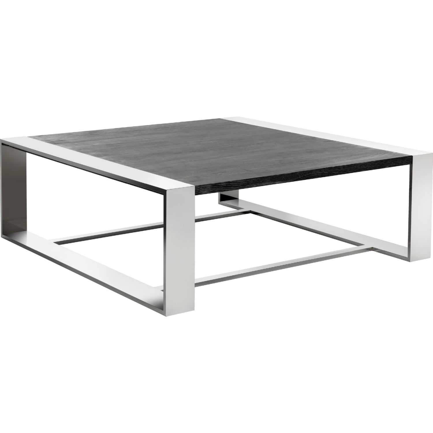 Ordinaire Sunpan Dalton Coffee Table In Polished Stainless U0026 Distressed Grey. Tap To  Expand