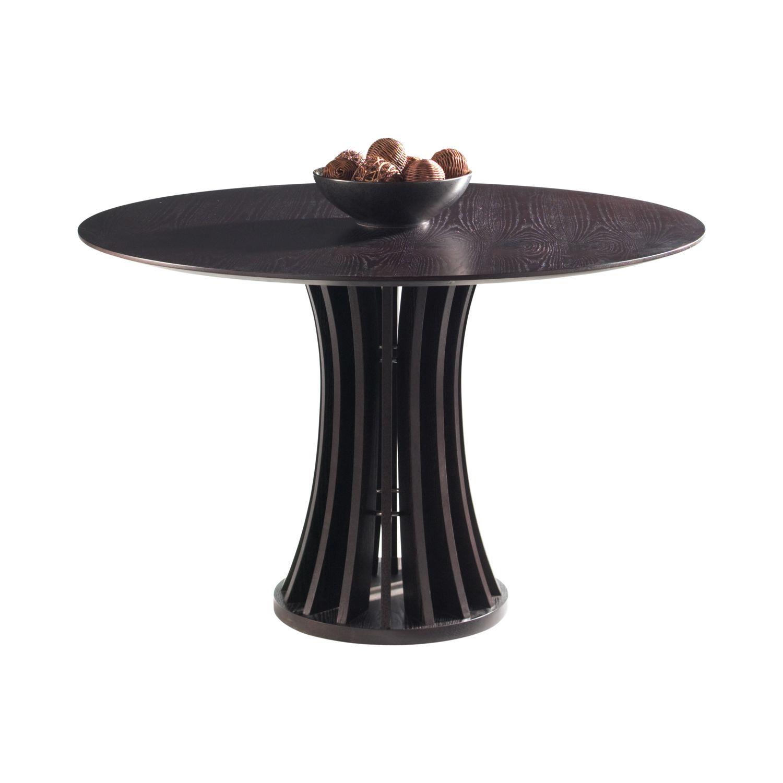 Sunpan 17093 Aziz Round Dining Table in Dark Espresso : 1709320Aziz20dining20table2 from www.dynamichomedecor.com size 1500 x 1500 jpeg 101kB