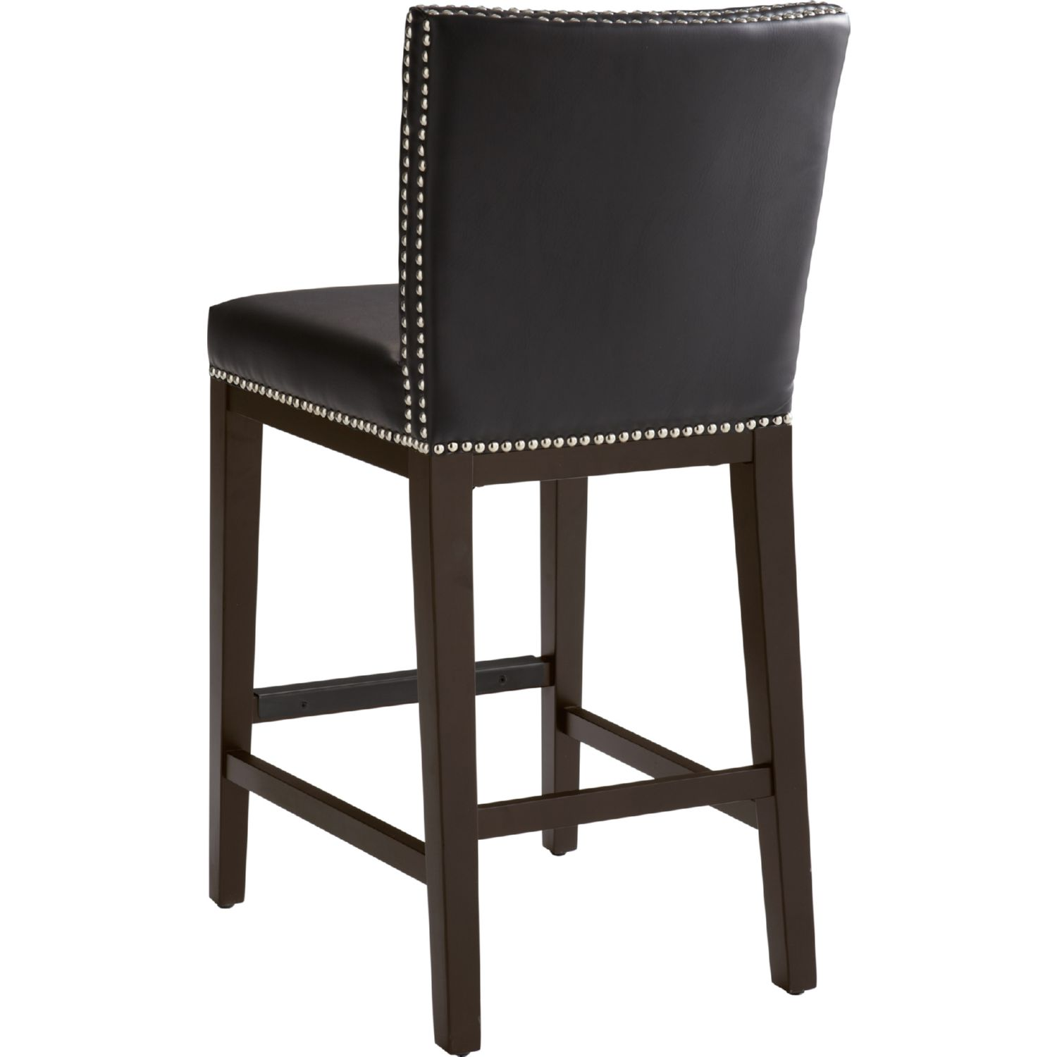 Sunpan 65871 Vintage Counter Height Stool In Brown Leather