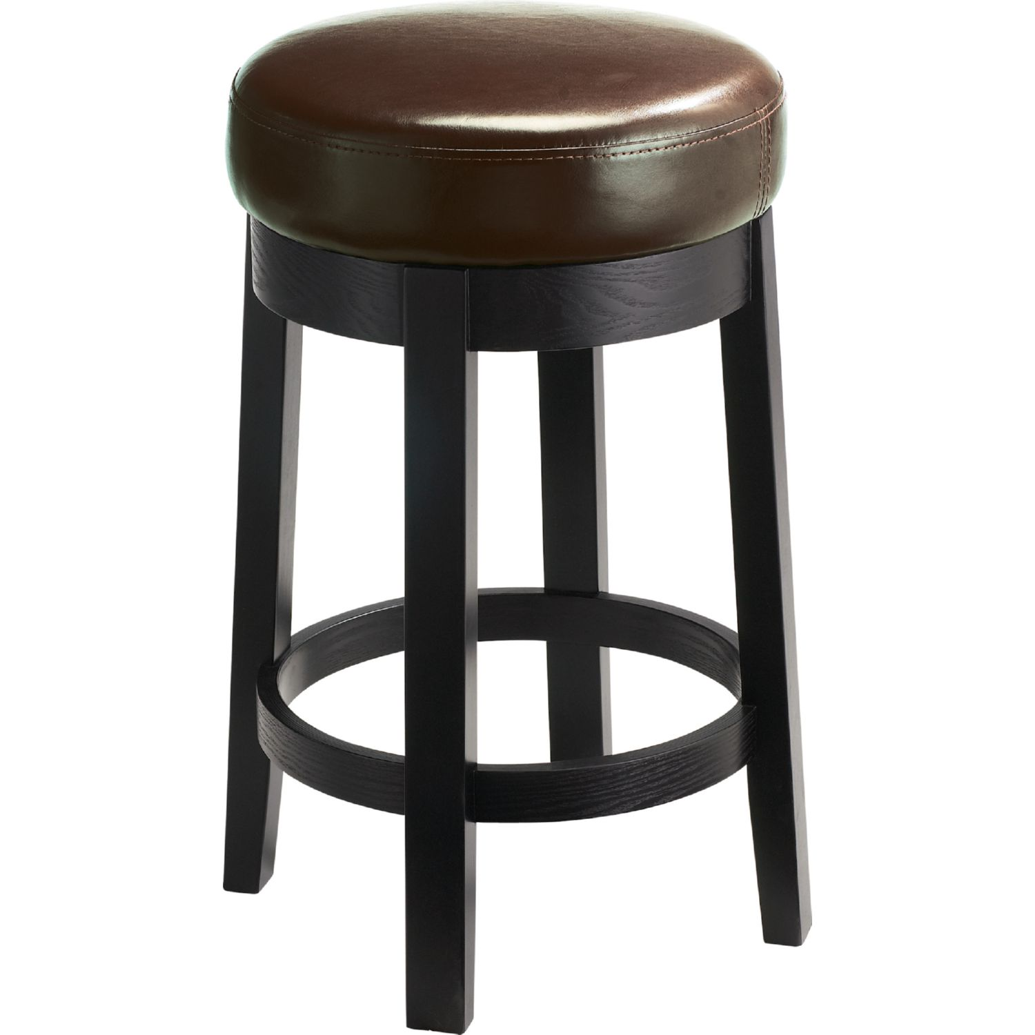 Sunpan 44921 Cedric Swivel Counter Height Stool In Brown