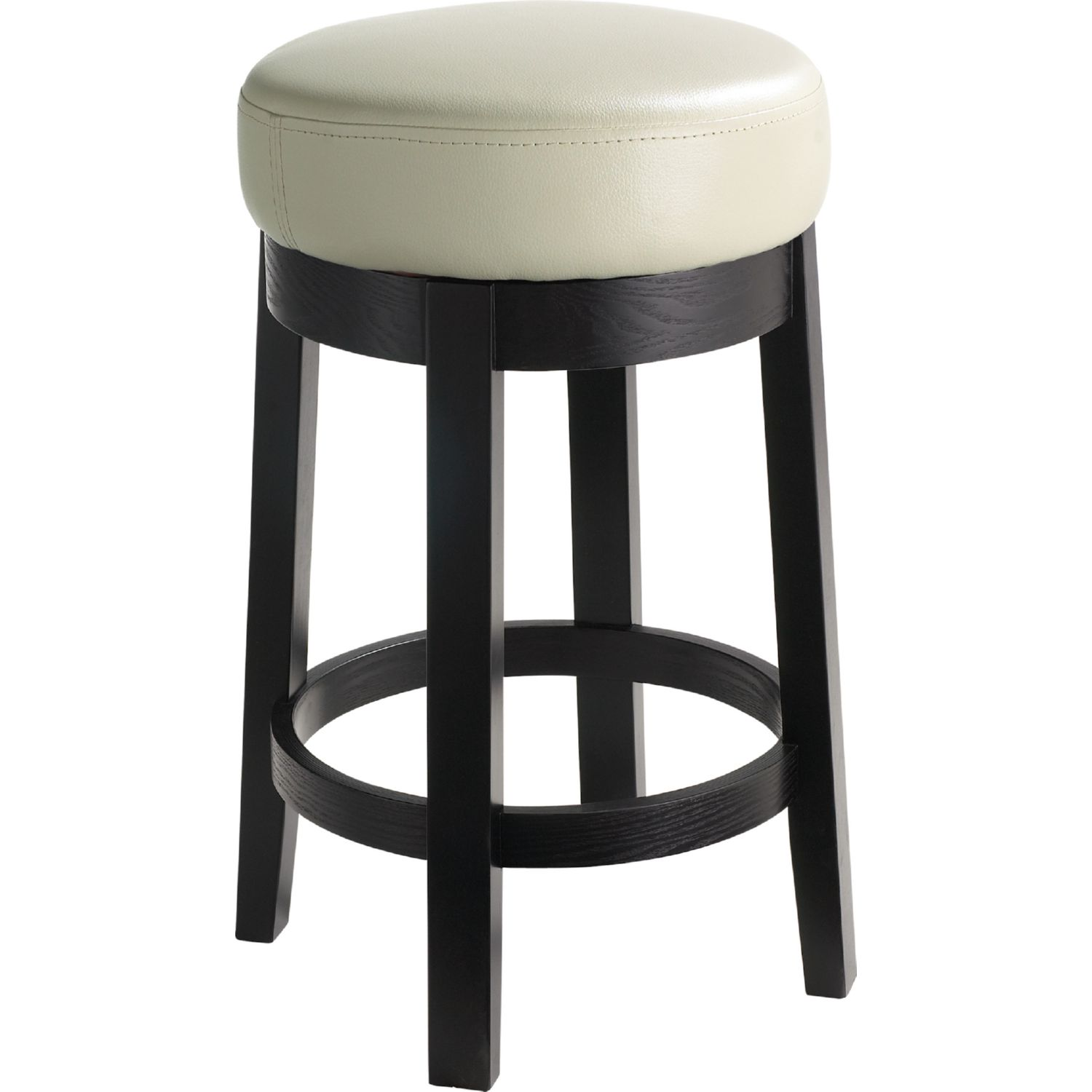 Sunpan 44923 Cedric Swivel Counter Height Stool In Cream