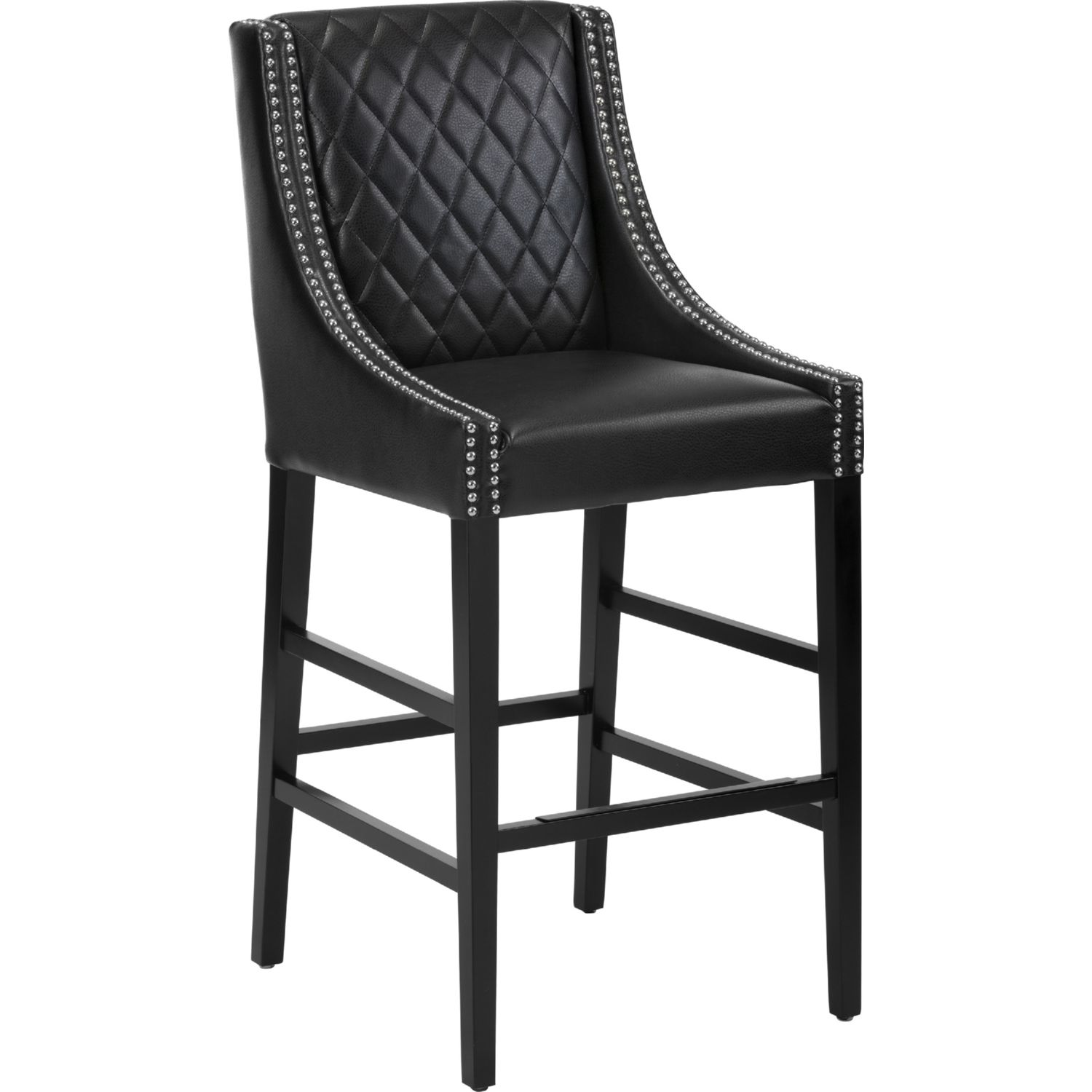 Black Bar Chairs Leather thesecretconsul