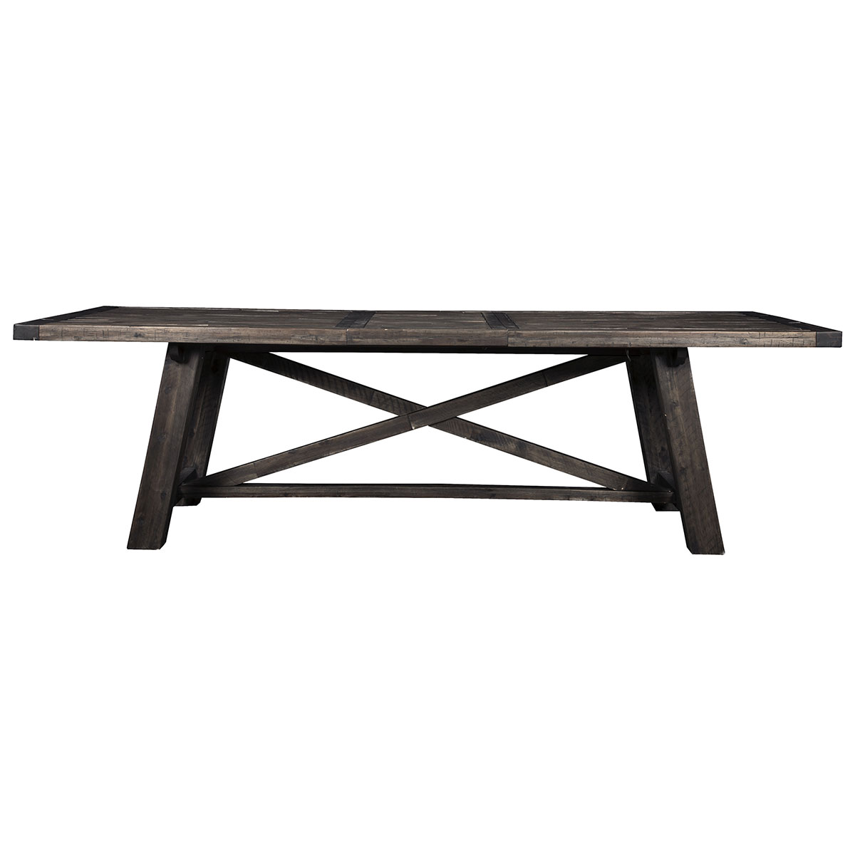 Newberry Extension Dining Table in Salvaged Grey