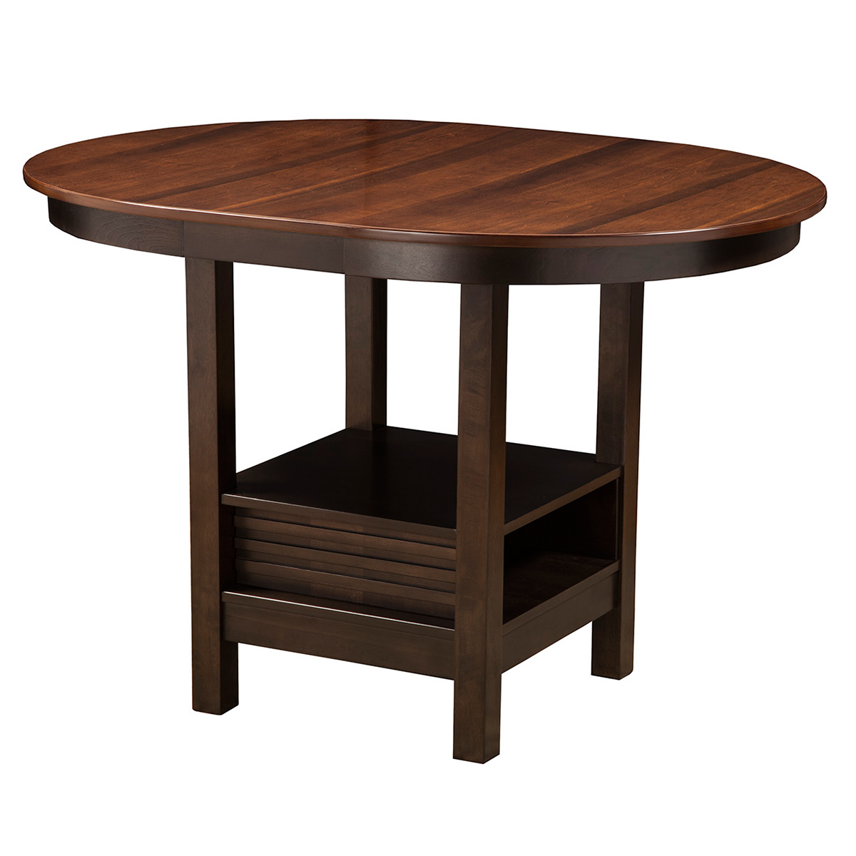 Alpine Furniture 5442 01 Davenport Oval Pub Table in  : 5442 01 from www.dynamichomedecor.com size 1200 x 1200 jpeg 222kB
