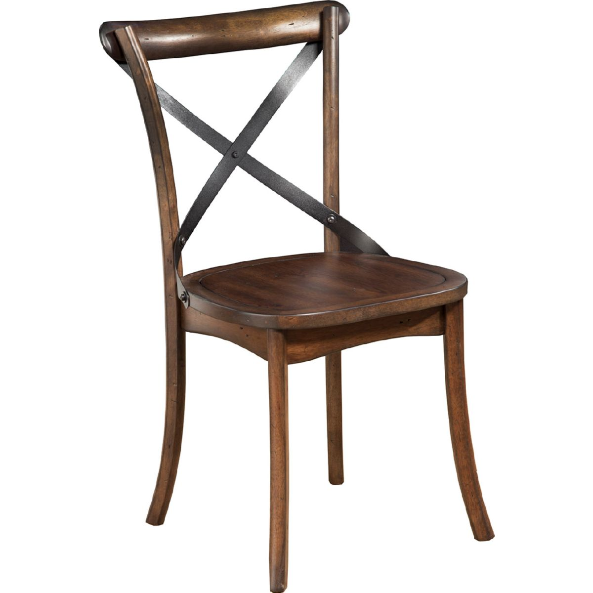 Alpine Furniture 5672 02 Arendal Dining Chair In Burnished