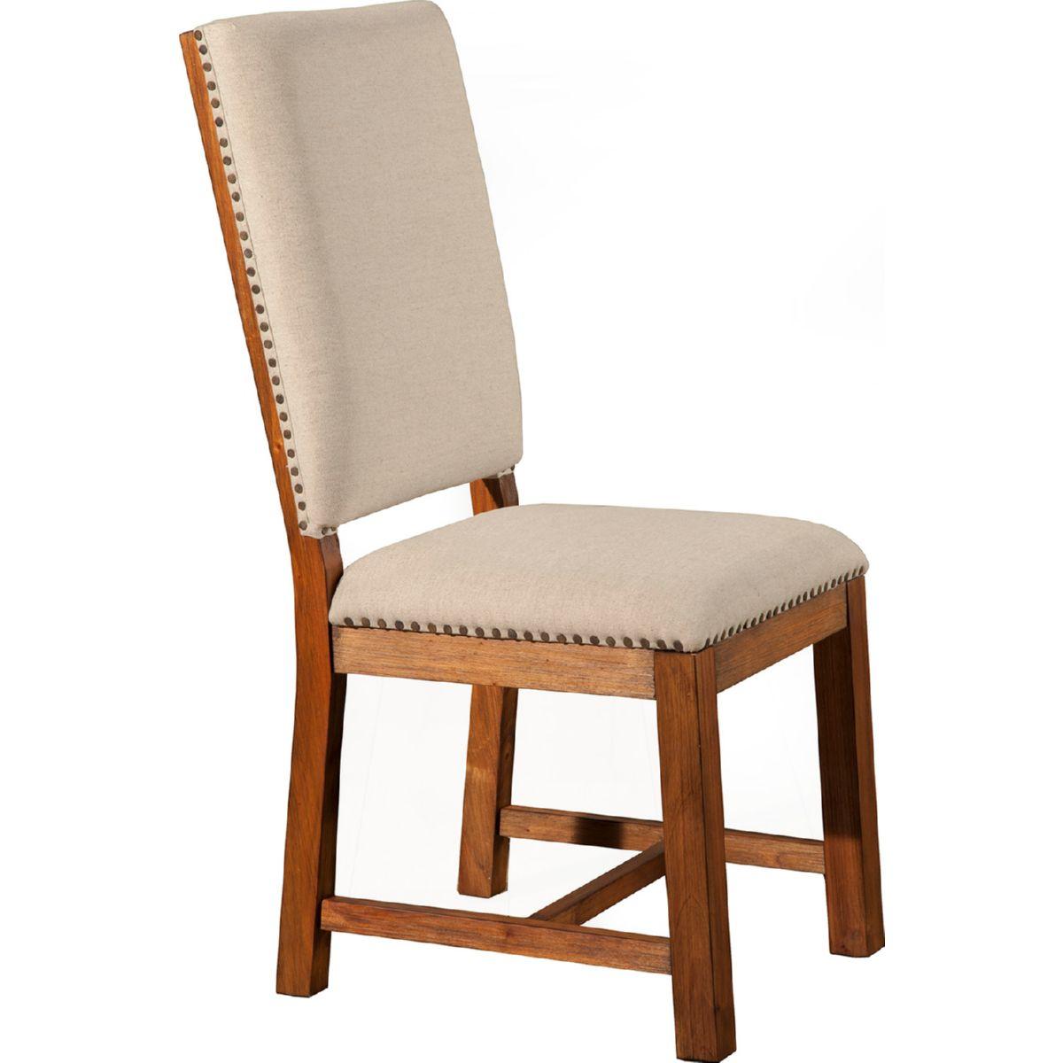 Prime Shasta Upholstered Dining Chair In Salvaged Natural Mahogany Set Of 2 By Alpine Furniture Spiritservingveterans Wood Chair Design Ideas Spiritservingveteransorg