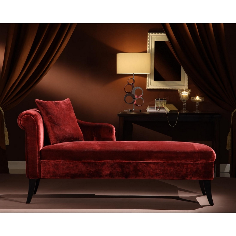 Armen living lcmch009fama patterson chaise in maroon chenille for Armen living patterson chenille chaise lounge