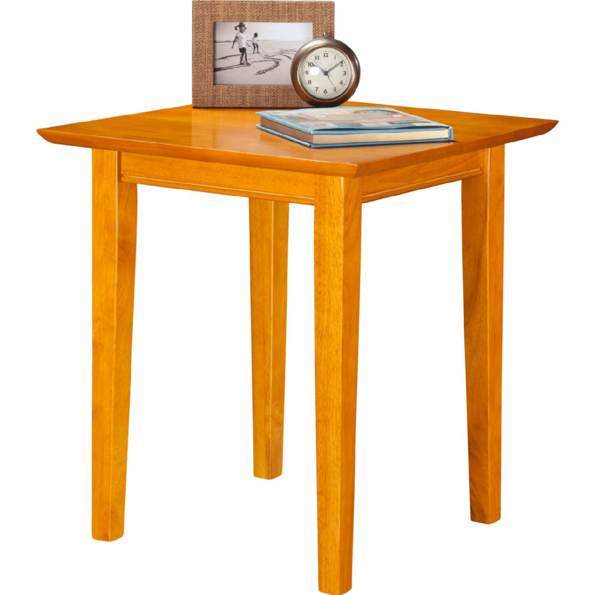 Attrayant Atlantic Furniture Shaker End Table In Caramel Latte. Hover To Zoom