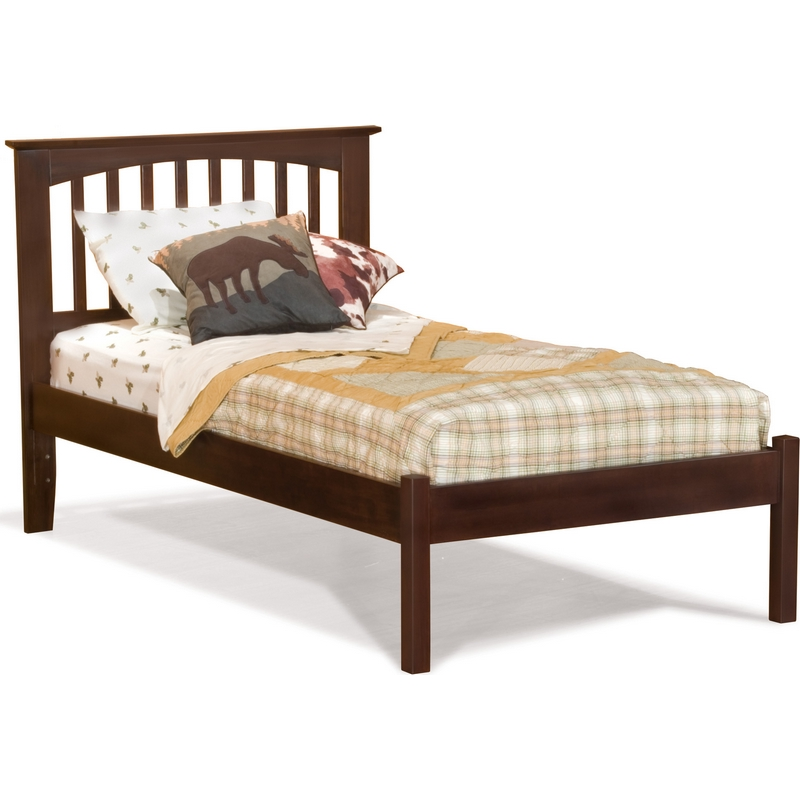 Atlantic Furniture Ap9041004 Brooklyn Queen Bed W Open