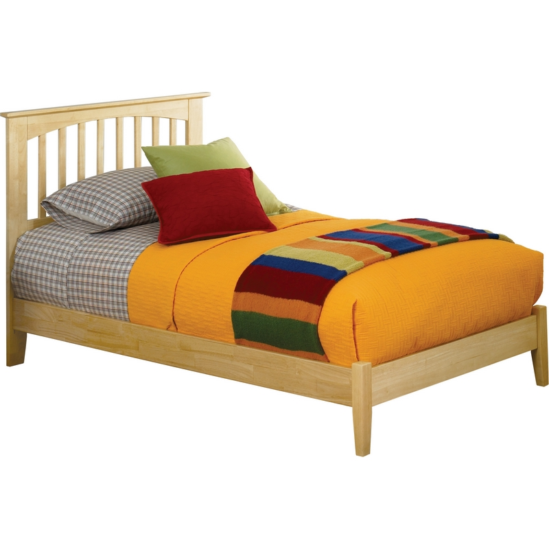Atlantic Furniture Ap9041005 Brooklyn Queen Bed W Open