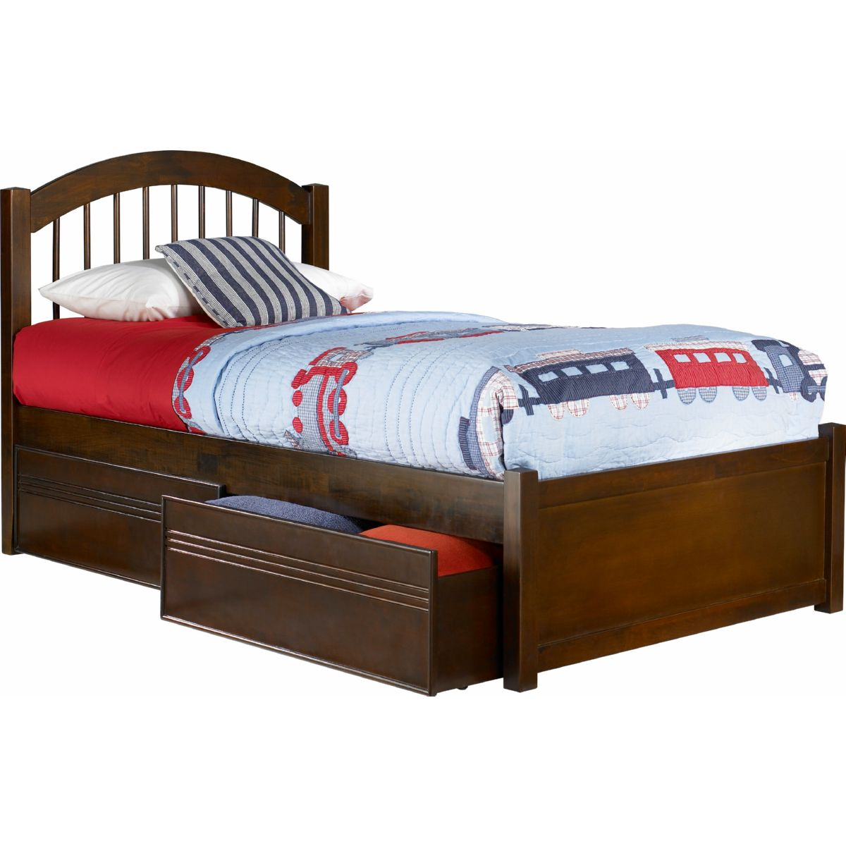 Atlantic Furniture Ap9412114 Windsor Twin Xl Bed Flat