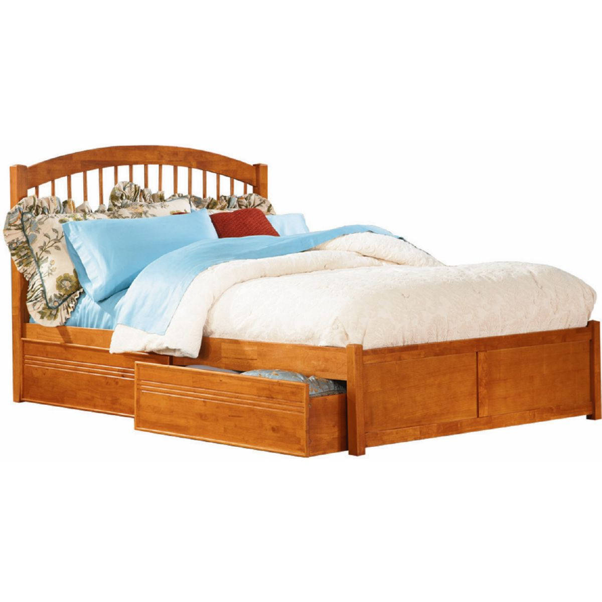 Atlantic Furniture Ap9432117 Windsor Full Bed W Flat