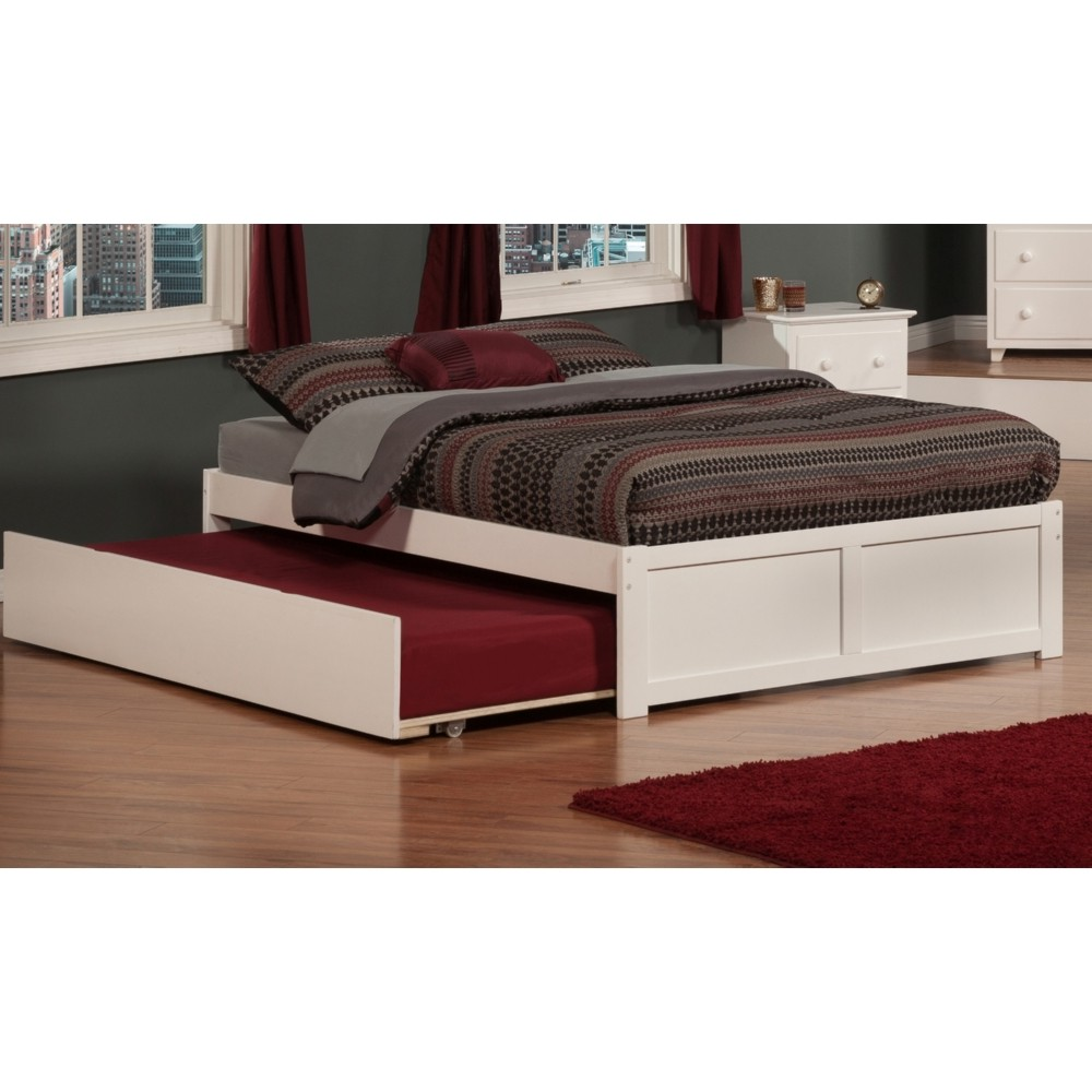 Atlantic Furniture Atlantic Furniture Woodland Twin Over Twin Bunk Bed With Staircase U0026