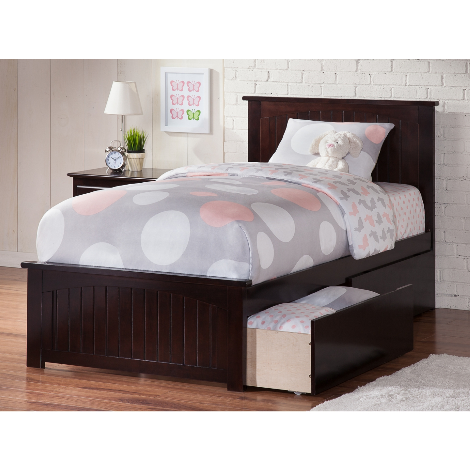 Atlantic furniture ar8216111 nantucket twin xl bed w for Urban home beds