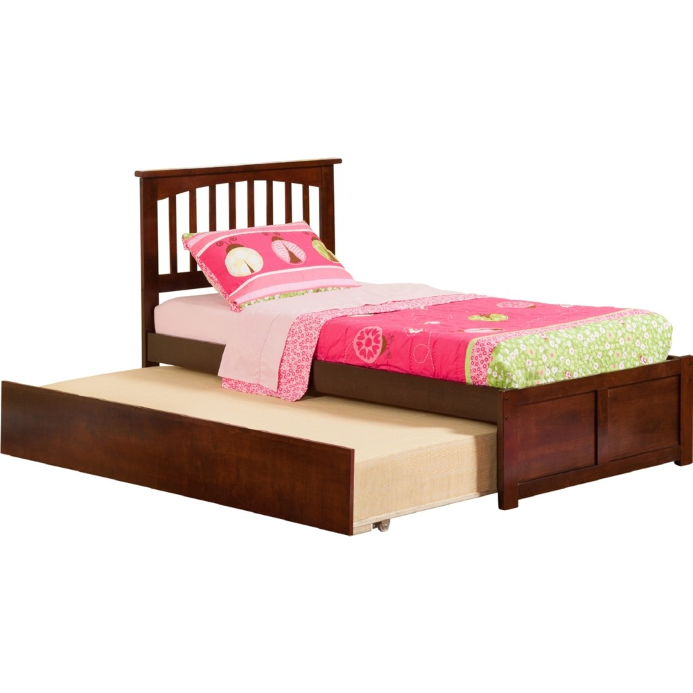 Atlantic furniture ar8722014 mission twin bed w flat for Urban home beds