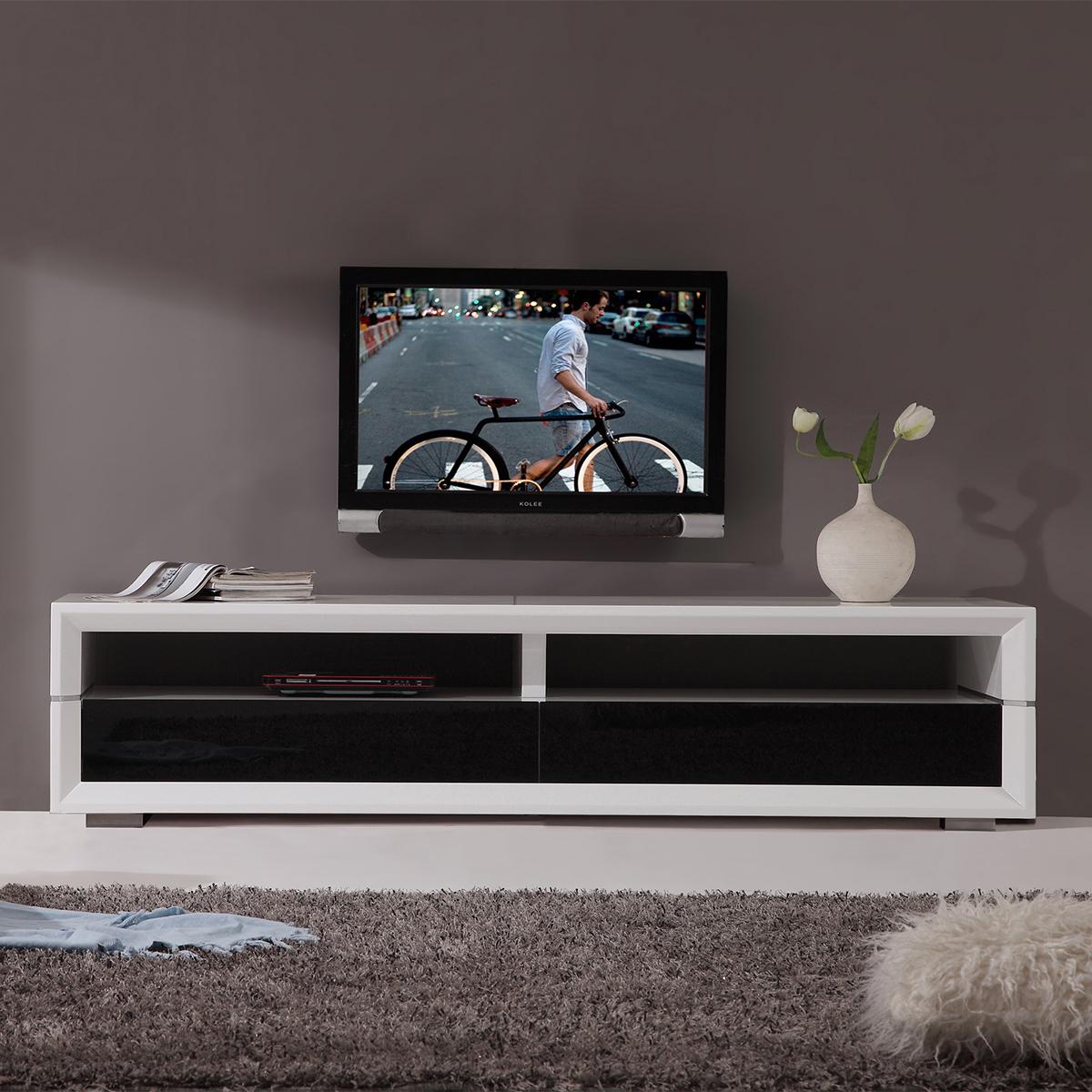 B Modern Bm 629 Wht Executive Remix 79 Quot Contemporary Tv