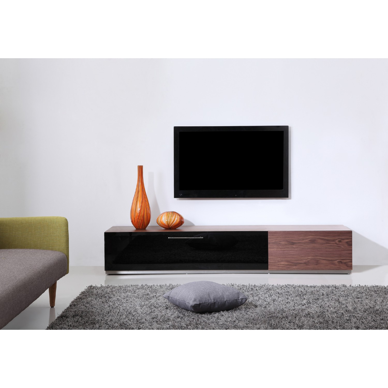 B Modern Furniture Producer 80 Contemporary TV Stand In