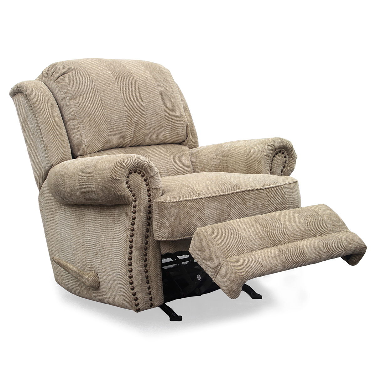 BarcaLounger Regency Recliner in Odyssey Cashmere Chenille Fabric  sc 1 st  Dynamic Home Decor : fabric recliners chairs - islam-shia.org