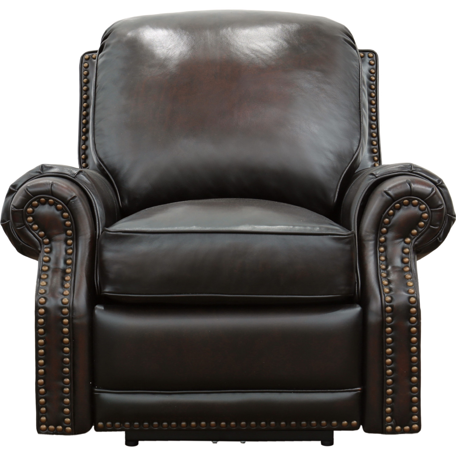 Enjoyable Premier Ii Power Reclining Arm Chair In Stetson Coffee Top Grain Leather By Barcalounger Bralicious Painted Fabric Chair Ideas Braliciousco