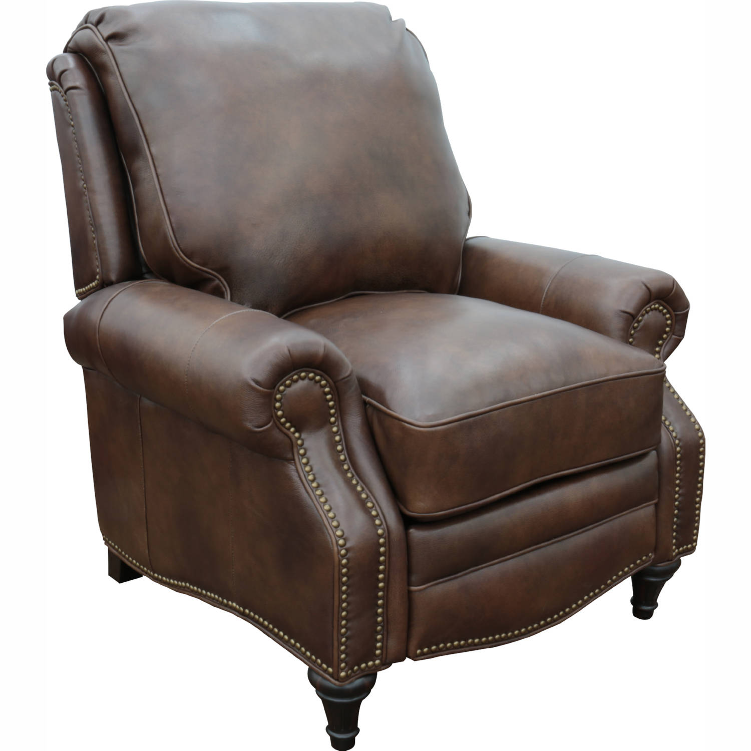 Superb Avery Recliner In Worthington Cognac Brown Leather By Barcalounger Short Links Chair Design For Home Short Linksinfo
