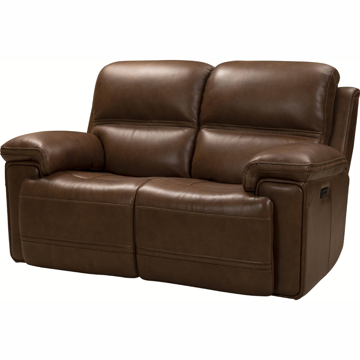 Strange Sedrick Power Reclining Sofa In Spence Caramel Brown Leather By Barcalounger Beatyapartments Chair Design Images Beatyapartmentscom