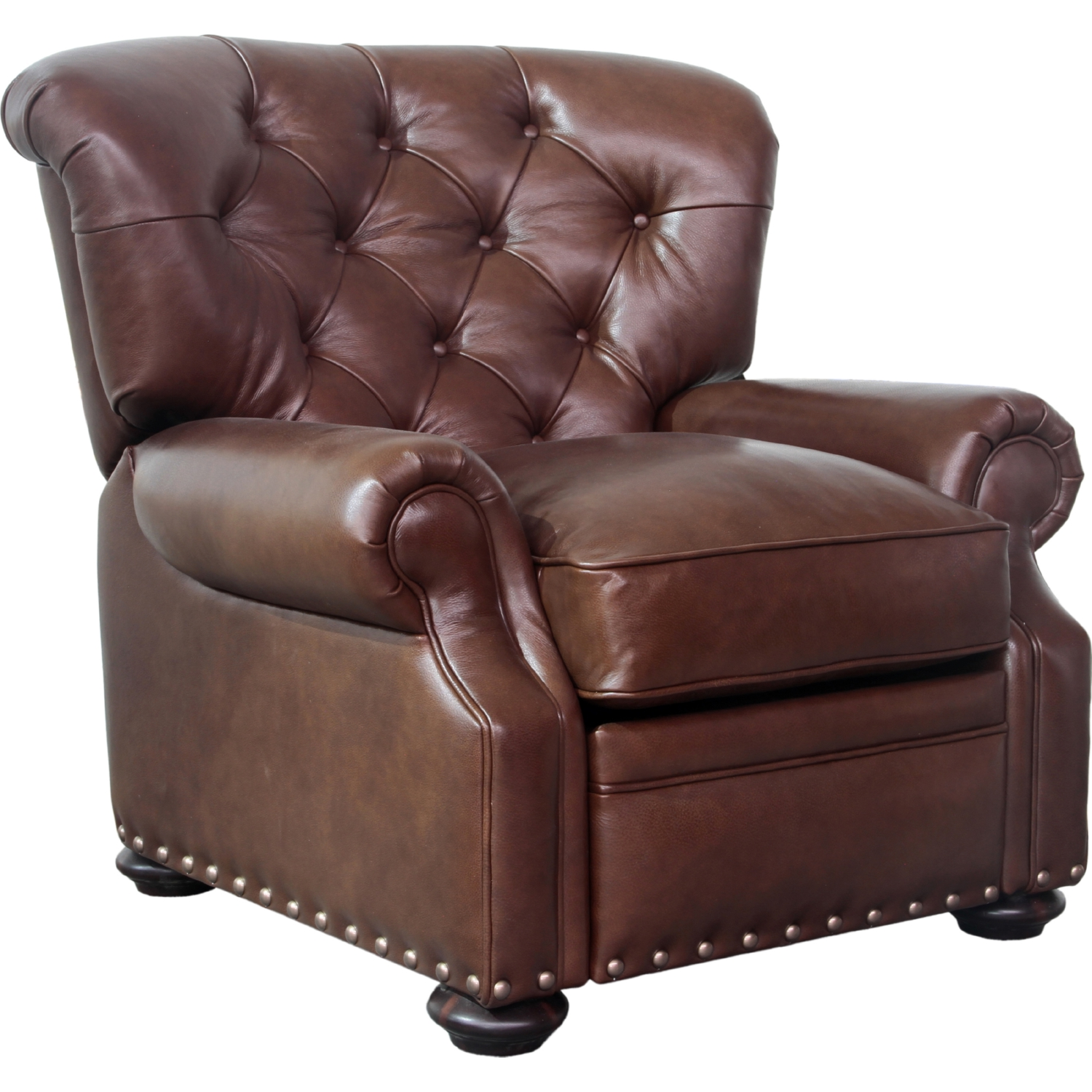 Sinclair Recliner in Shoreham Chocolate Leather  sc 1 st  Dynamic Home Decor & BarcaLounger 7-2167-5700-85 Sinclair Recliner in Shoreham ... islam-shia.org