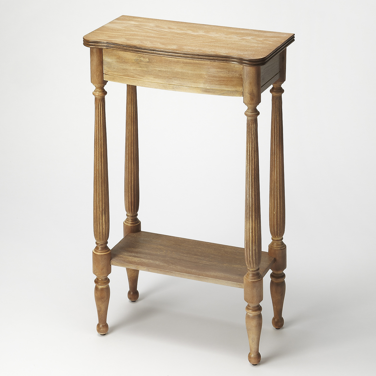 Butler specialty 3011247 whitney driftwood console table whitney driftwood console table geotapseo Images