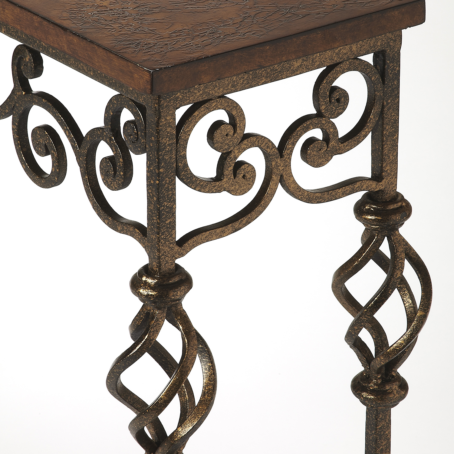 Algiers Wrought Iron Console Table