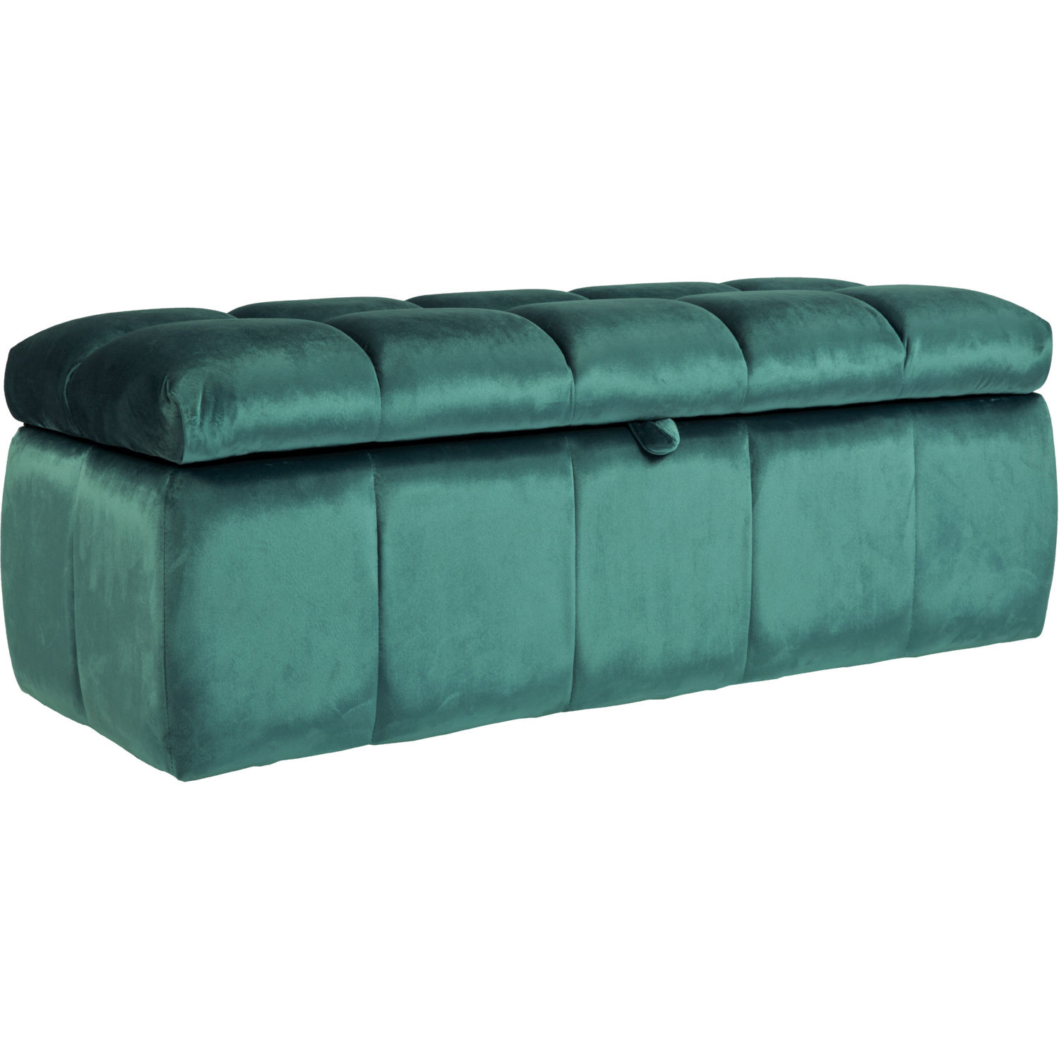 Pleasing Chagit Storage Bench Ottoman In Tufted Blue Velvet By Chic Home Bralicious Painted Fabric Chair Ideas Braliciousco