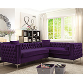 chic home fsa2849 dr mozart left sectional sofa w right