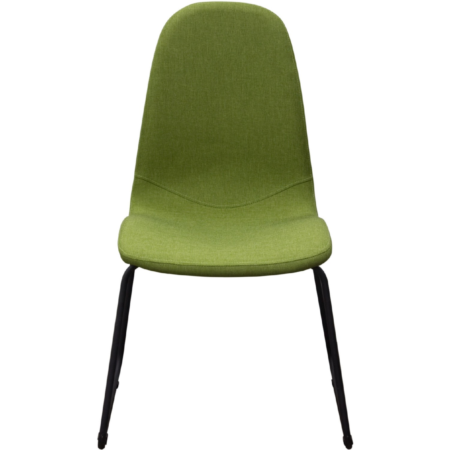 Brilliant Finn Dining Chairs In Green Fabric W Black Powder Coated Metal Leg Set Of 2 By Diamond Sofa Ibusinesslaw Wood Chair Design Ideas Ibusinesslaworg