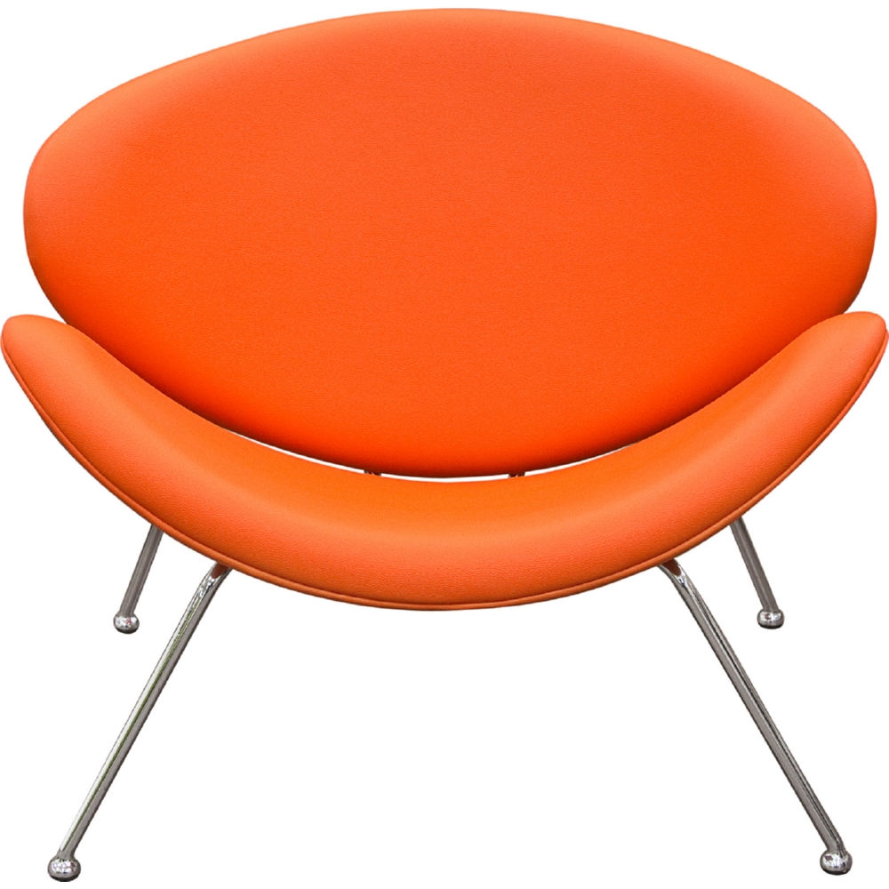 Outstanding Roxy Accent Chair In Orange Leatherette W Chrome Frame Set Of 2 By Diamond Sofa Ibusinesslaw Wood Chair Design Ideas Ibusinesslaworg