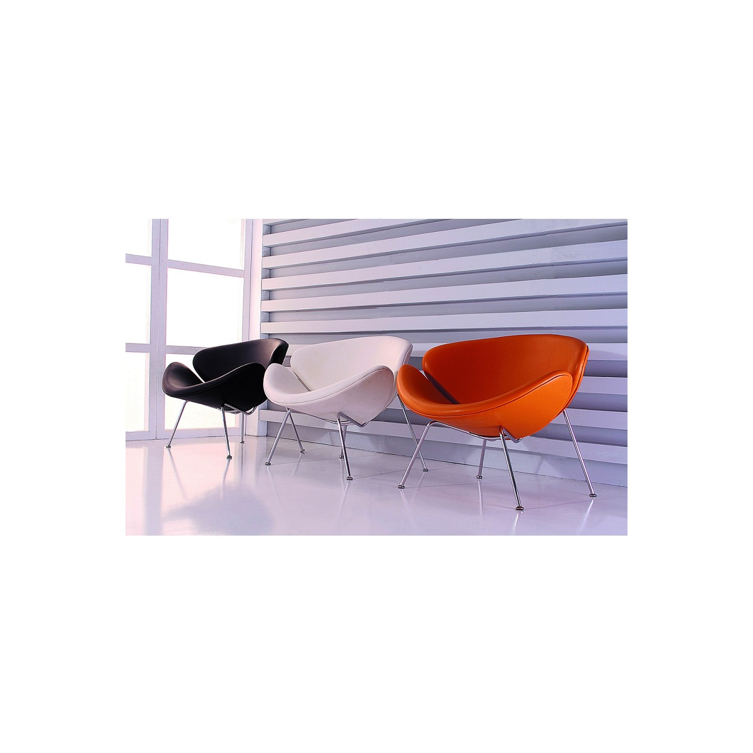 Brilliant Roxy Accent Chair In Orange Leatherette W Chrome Frame Set Of 2 By Diamond Sofa Ibusinesslaw Wood Chair Design Ideas Ibusinesslaworg