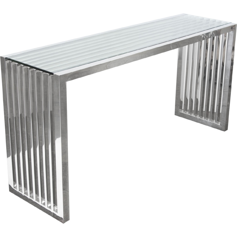Diamond Sofa Sohocsst Soho Rectangular Stainless Steel