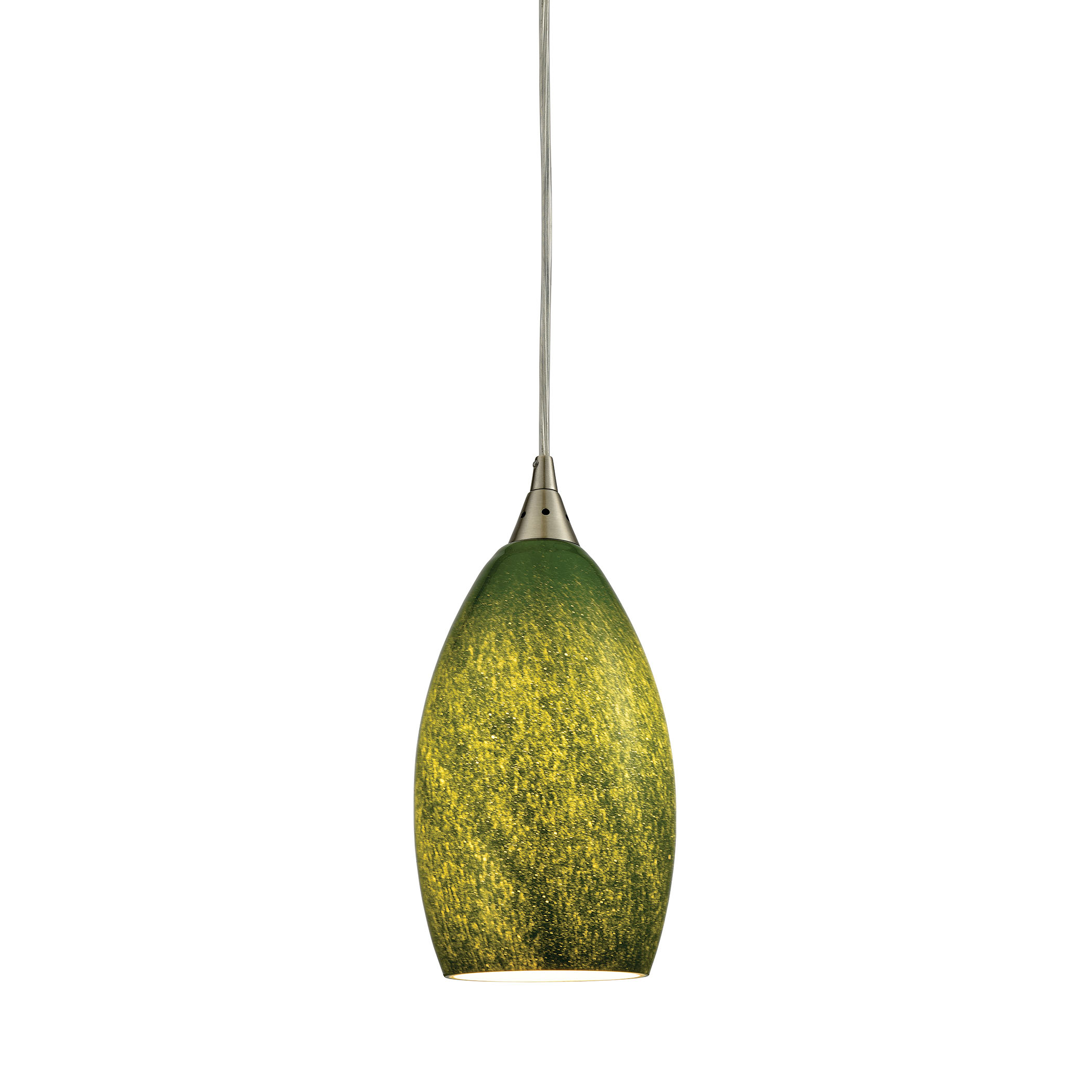 ELK Lighting 10510-1GRS Earth 1 Light Ceiling Pendant ...