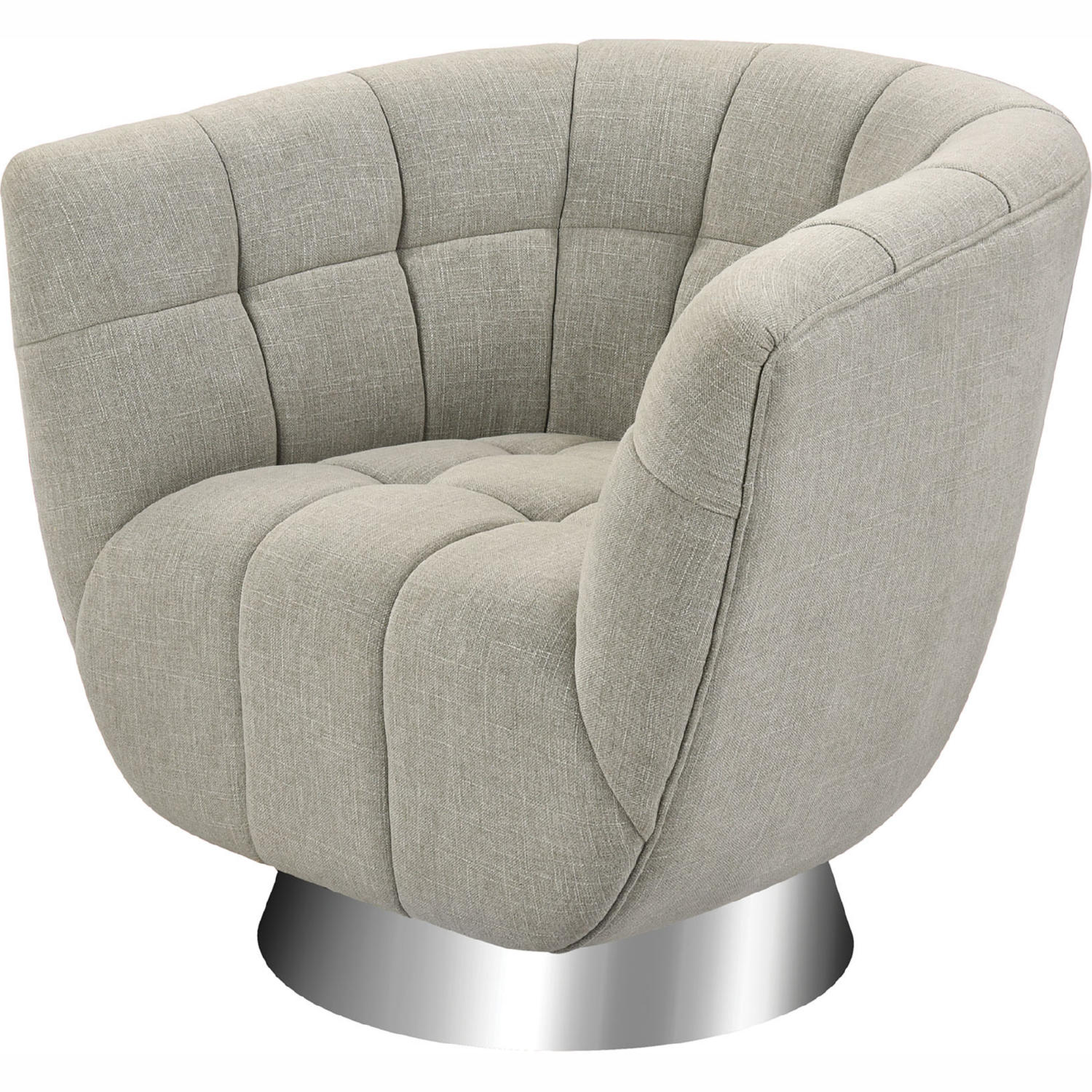 Miraculous Patrol Accent Chair In Grey Linen Stainless Steel By Elk Home Ibusinesslaw Wood Chair Design Ideas Ibusinesslaworg