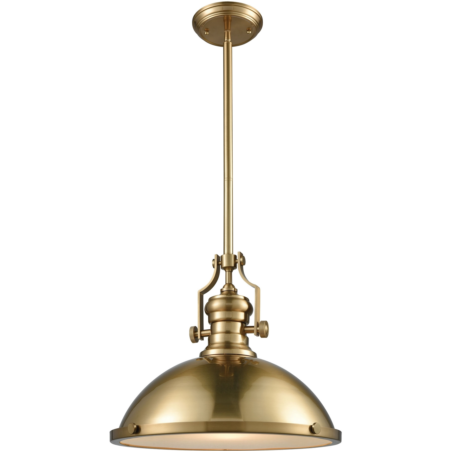 Elk Lighting Chadwick Pendant: ELK Lighting 66598-1 Chadwick 1 Light Ceiling Pendant In