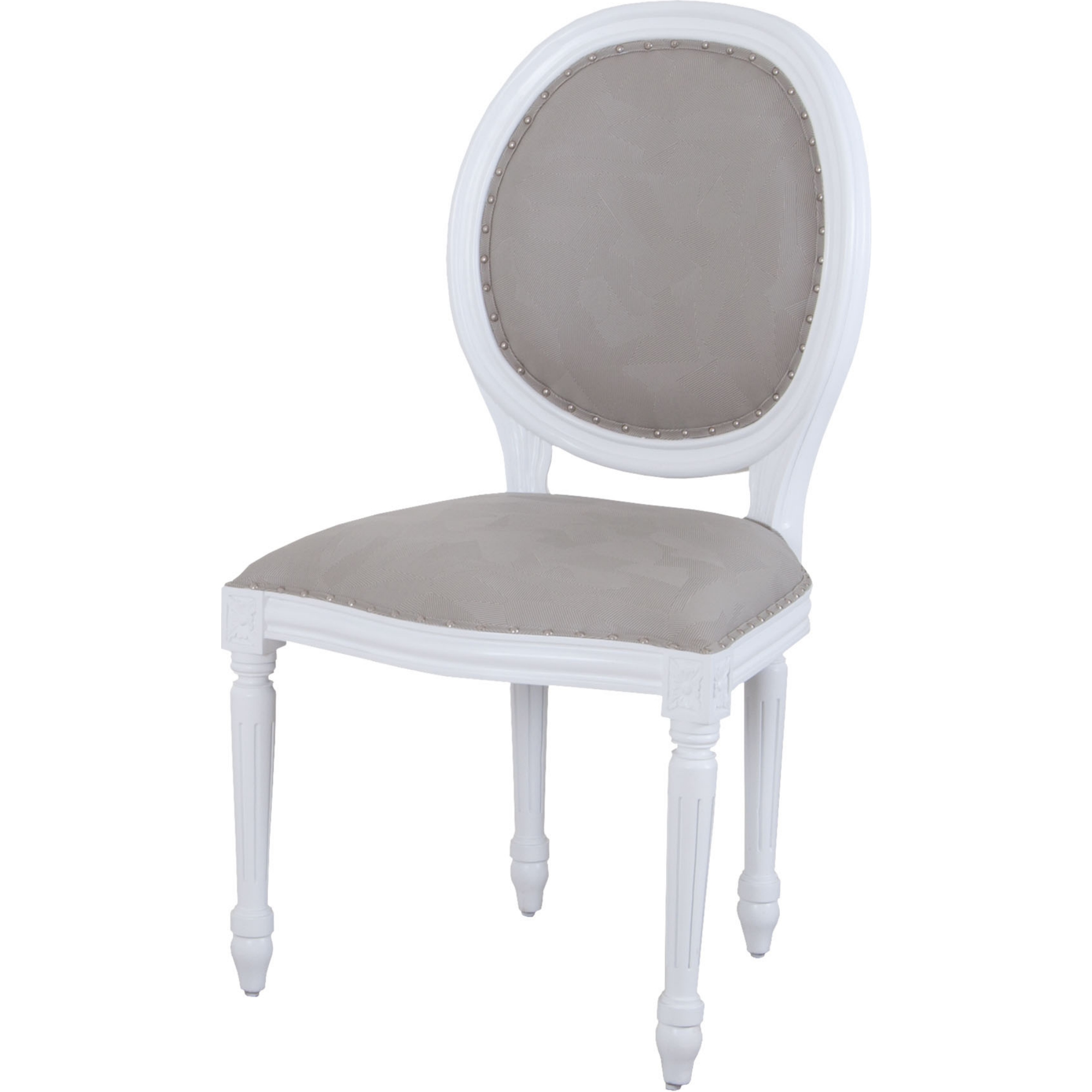 white leather round chair sterling industries 7011 1109 viola round back dining 22009 | 7011 1109