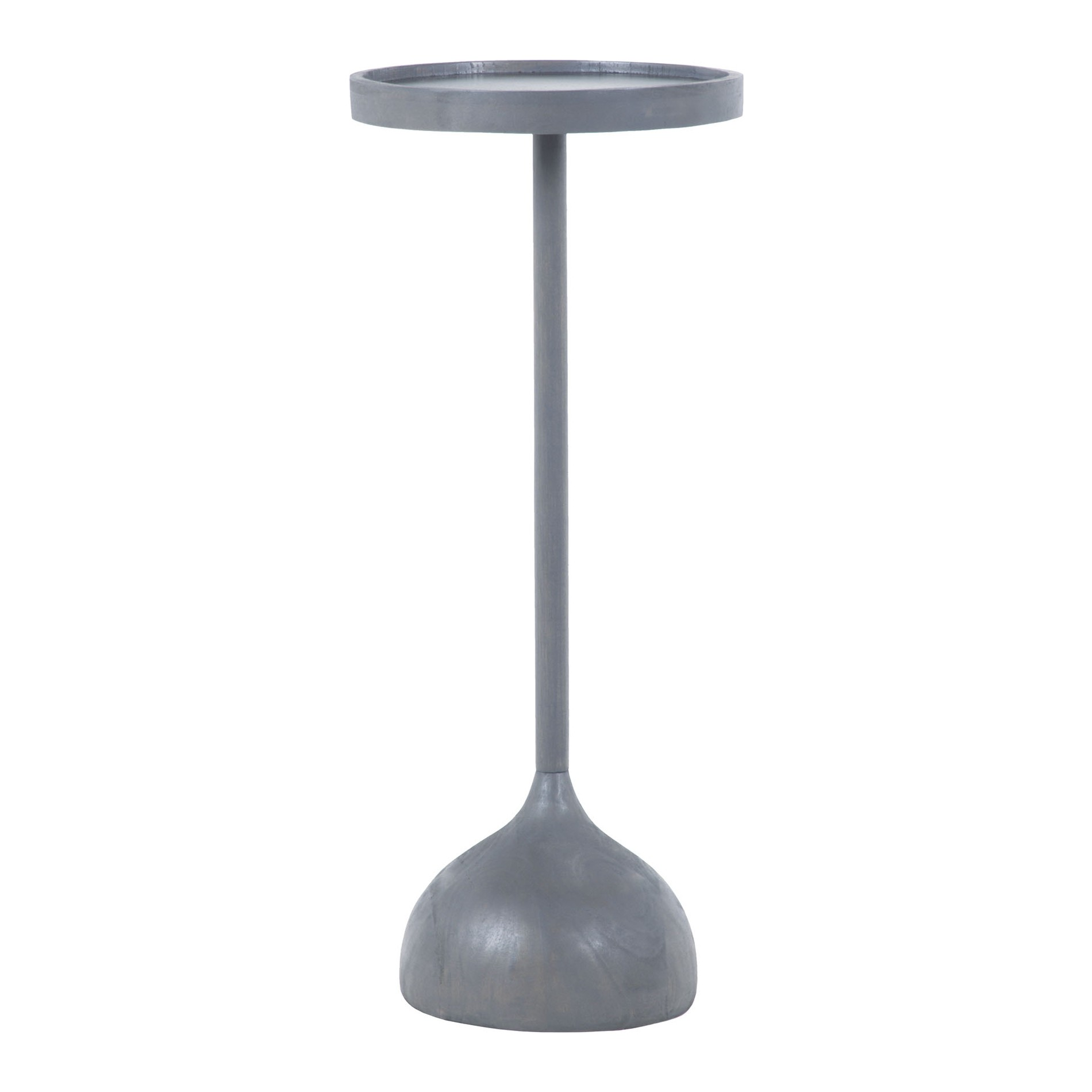 Martini Side Table dimond home 7011-240 elixir martini side table in antique smoke