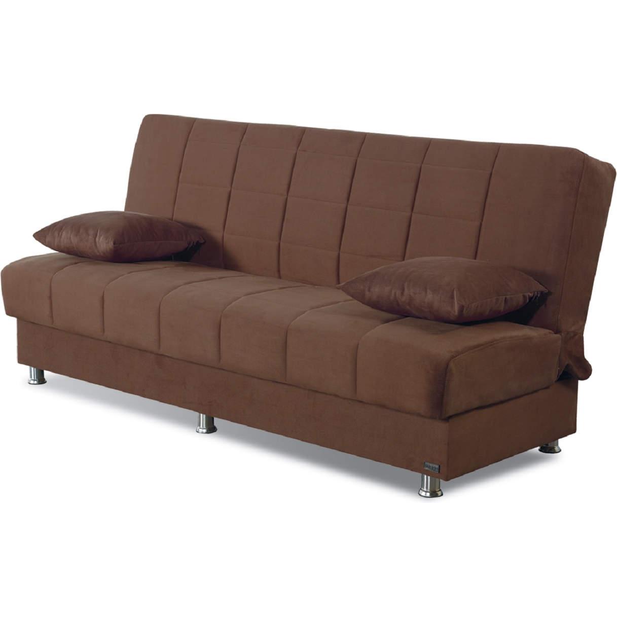 - Empire SB-HAMILTON Hamilton Convertible Sleeper Sofa In Brown