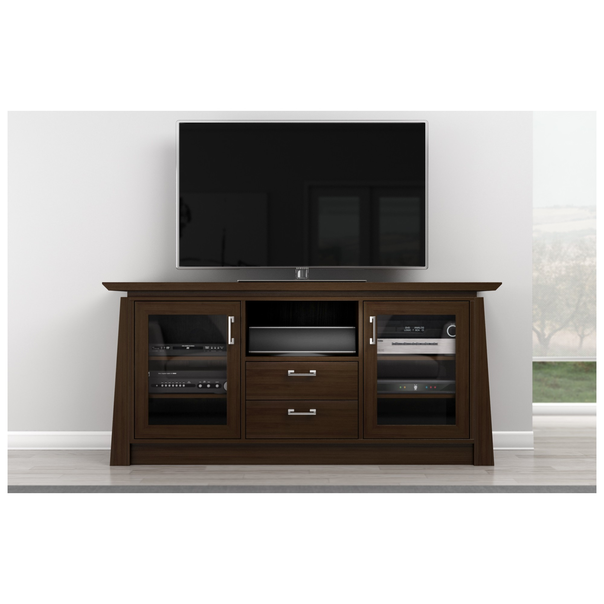 Furnitech Elegante 70 Tv Stand Asian