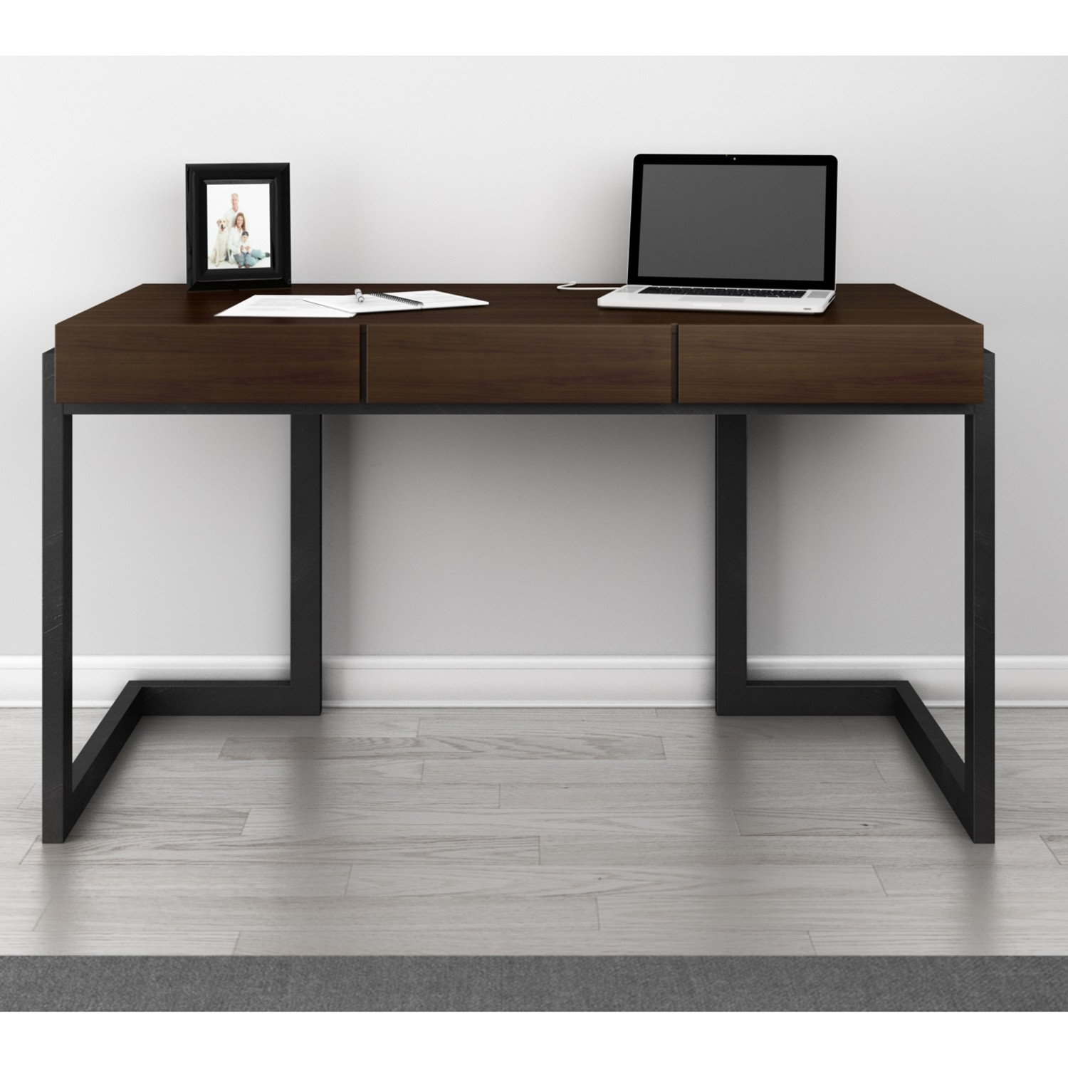 writing graphite and new national station desking morgan desk laminate office product gray