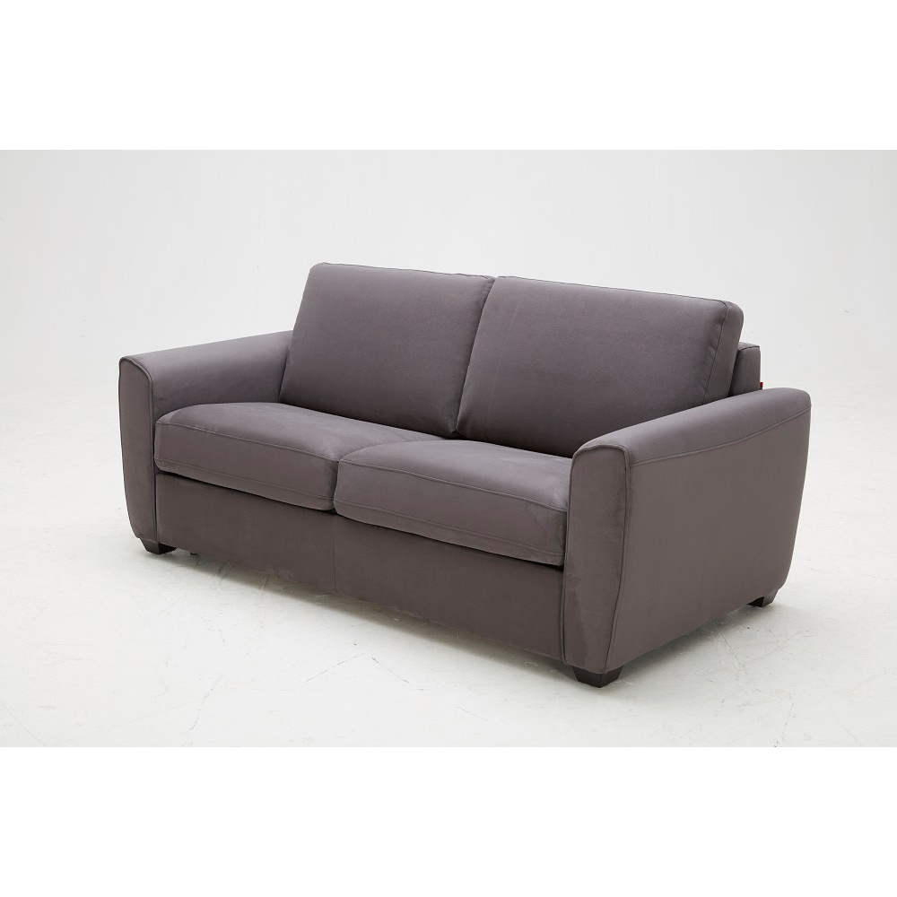 Mono Fabric Sofa Bed in Dark Grey Microfiber by J and M Furniture
