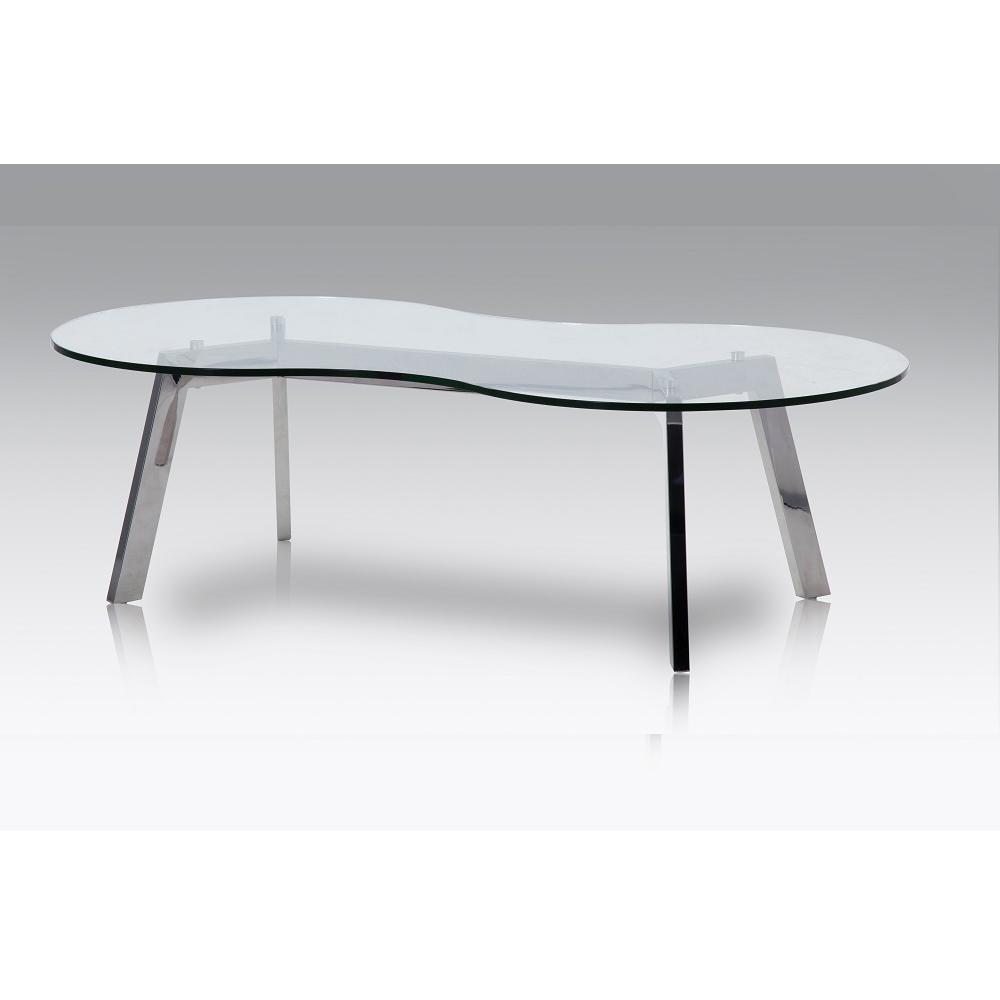 J & M Furniture 18239 Corso Coffee Table In Organic Shape