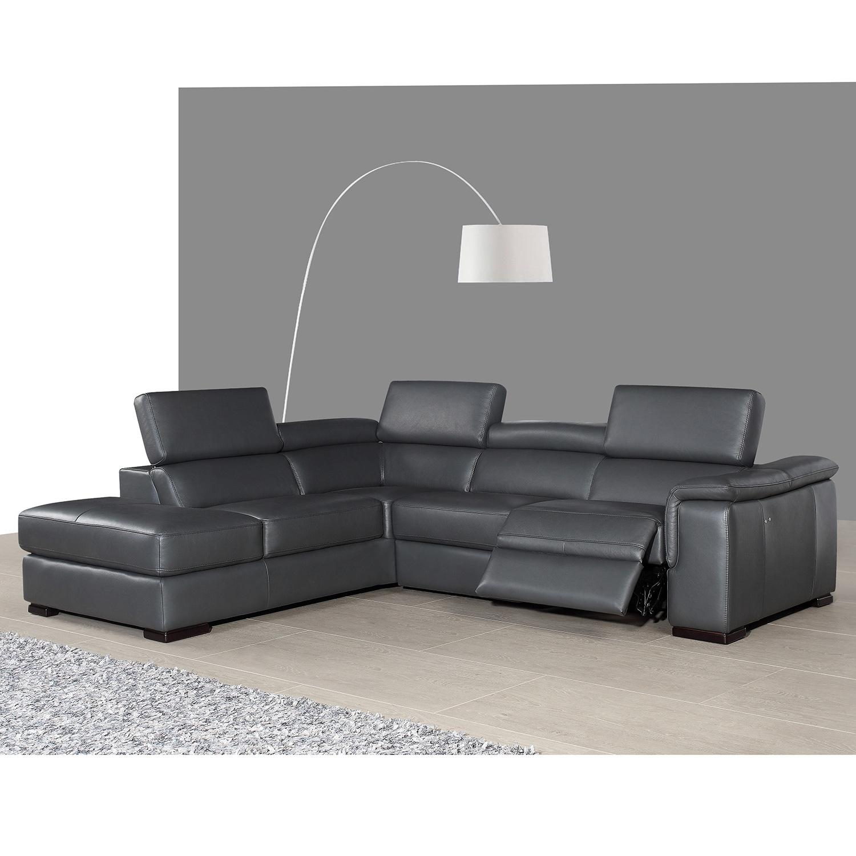 J&M Furniture LHFCHAISE Agata Left Facing Chaise Italian