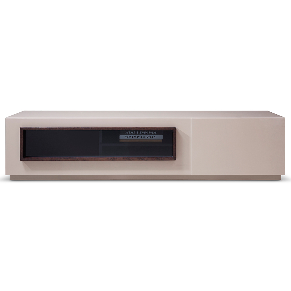 High Gloss Brown tv Unit tv Stand in High Gloss