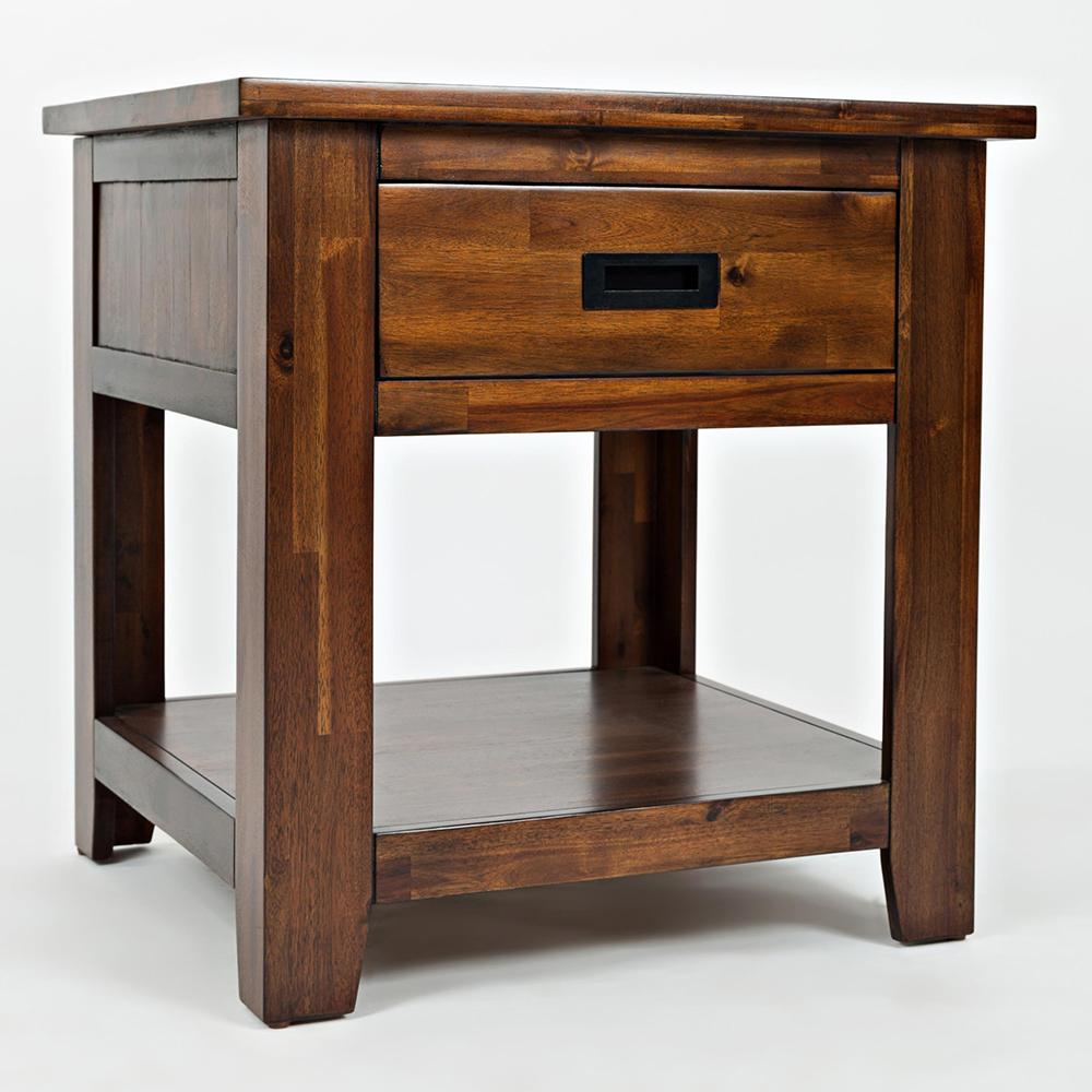 Exceptional Coolidge Corner End Table W/ Drawer U0026 Shelf
