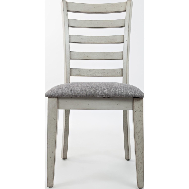 Jofran 1638 380KD Sarasota Springs Ladder Back Dining Chair in